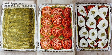 Tarta Jitomate Mozzarella