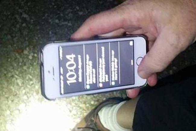 El iPhone de una canadiense sobrevive a una caída de 700 metros desde un avión
