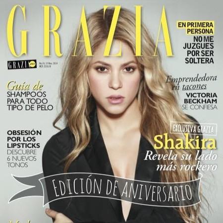 El lado rocker de Shakira