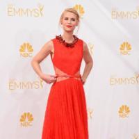 La pasión de Claire Danes se traduce en rojo en los #Emmys2014
