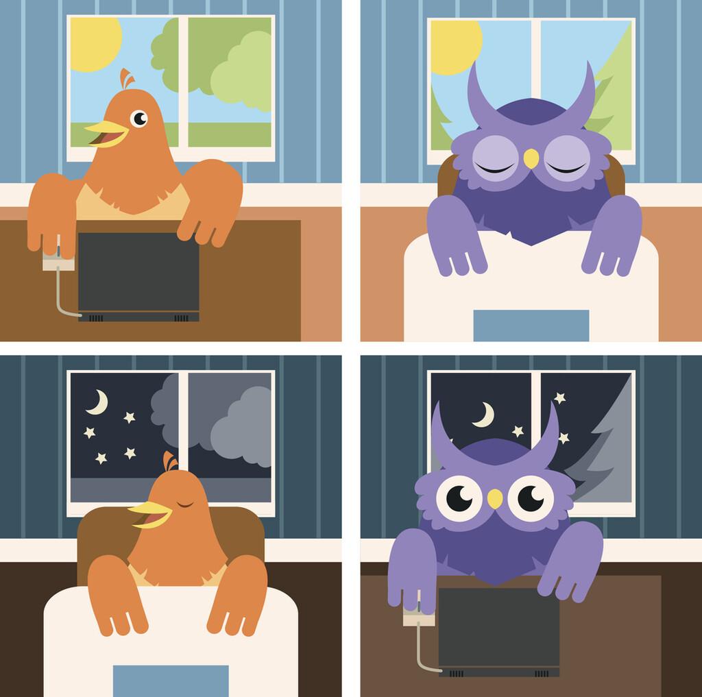 Búho o alondra: cuál es tu cronotipo (en función si eres diurno o nocturno) y cómo saberlo