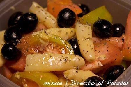 comida para llevar - ensalada de tomate