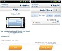PayPal 2.8 para Android, ahora con escaneado de cheques