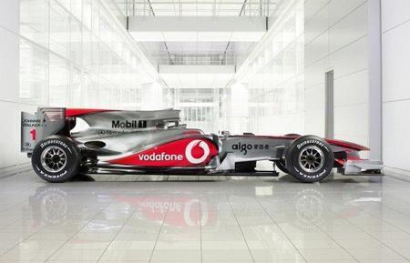 La presentación del McLaren MP4-26 en Berlín por razones comerciales
