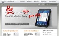 HP podría licenciar el SDK de webOS como una herramienta de desarrollo de aplicaciones web para iPad