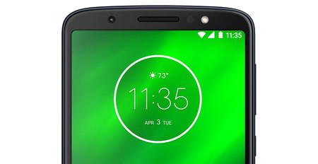 Las pantallas de los Moto G6, 18:9 pero sin notch
