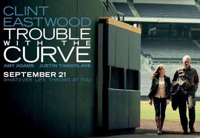 Un cartel de Golpe de Efecto (Trouble With The Curve)