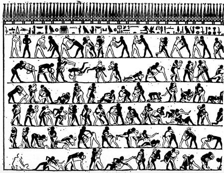 egipto-lucha