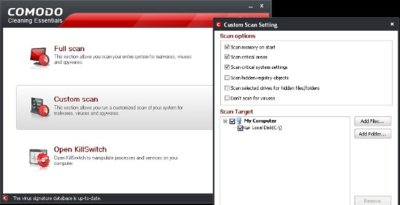 Comodo Cleaning Essentials, un antivirus en la memoria USB