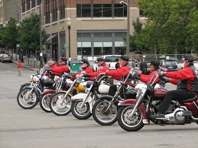 Motorcycle Drill Team