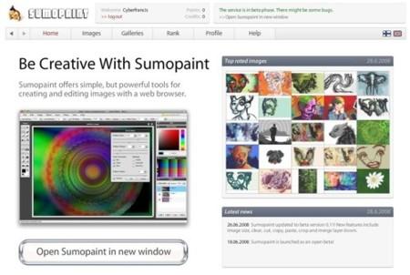 Sumopaint, edición de imágenes online con el look de A. Photoshop