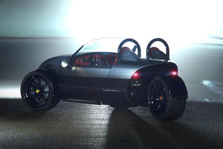 Lo último de Vanderhall se llama Carmel y es un vehículo de tres ruedas con 203 CV