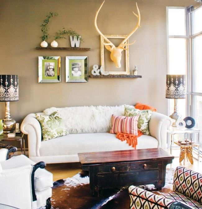 Modern Eclectic Living