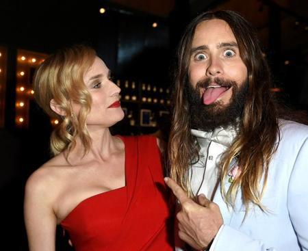 Jared Leto ensaya su papel de Joker con Diane Kruger