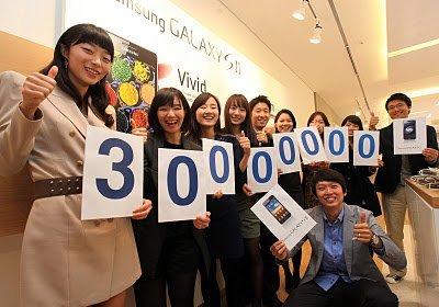 """Samsung Galaxy: """"el iPhone"""" de los Android celebra treinta millones de unidades vendidas"""