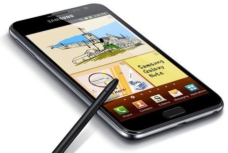 Samsung Galaxy Note original, de septiembre de 2011