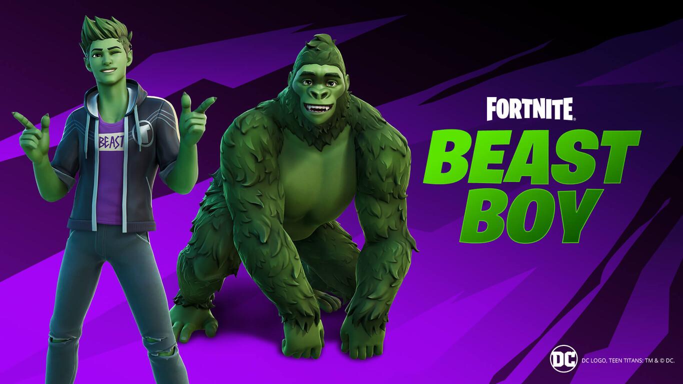 10 Dolares Gratis Fortnite Fortnite Como Conseguir Gratis La Skin De Beast Boy De Teen Titans