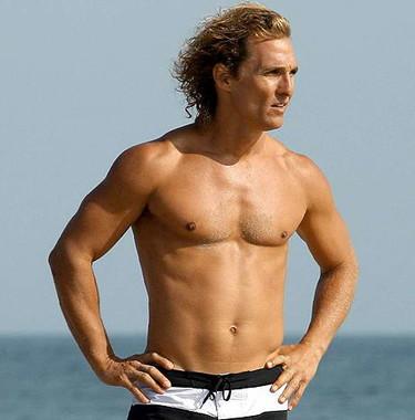 Matthew McConaughey perdido por el desierto