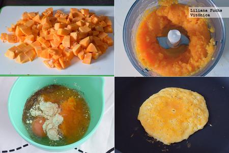 Tortitas de Calabaza Pasos