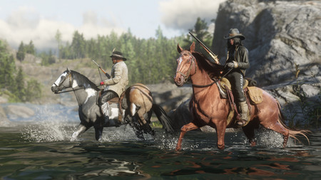 Red Dead Online - Caballos