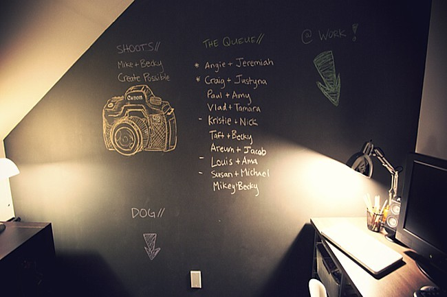 Foto de Un estudio en un armario bajo la escalera (2/4)