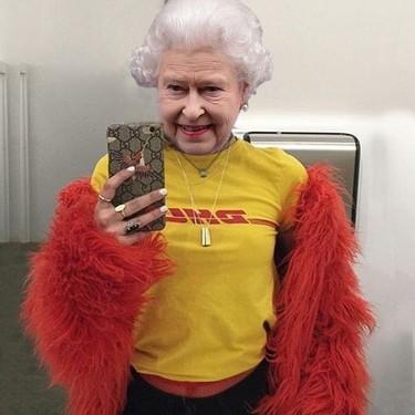 Freddie Smithson o cómo vestir a la Reina Isabel II de Vetements
