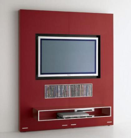¿Televisión o chimenea?