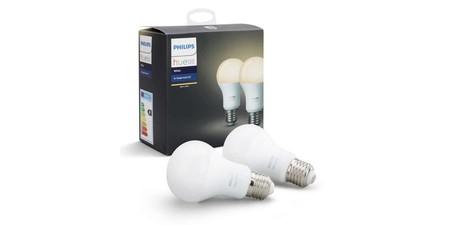 Philips Hue White Pack 2 Bombillas Blanco E27