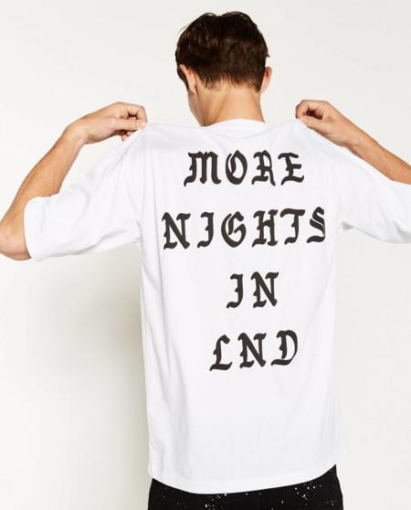 La tipografía también es tendencia en otoño y Zara apuesta por las letras góticas