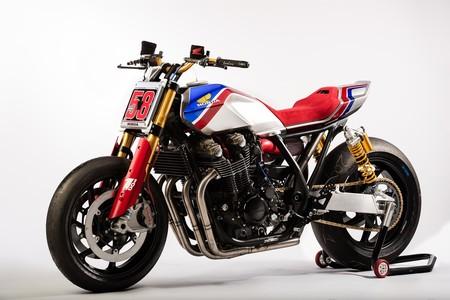 La anti-Thruxton japonesa podría ser algo tan imponente como la Honda CB1100 TR Concept