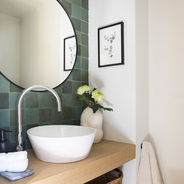 Tendencia en el cuarto de baño; diez lavabos sobre encimera por menos de 100 euros con los que presumir de baño