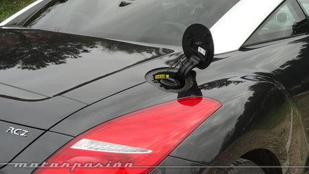 Peugeot RCZ 2013 2.0 HDi, boca de llenado de combustible