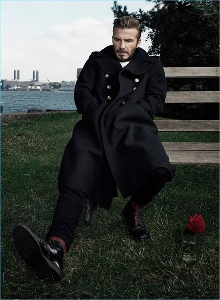 David Beckham se rehúsa a dejar su status como icono de moda