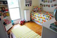 Espacios que inspiran: un dormitorio infantil lleno de color