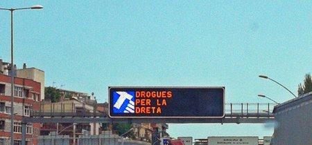 """""""Drogas por la derecha"""", o cuando el Servei regala por error un meme a los automovilistas"""