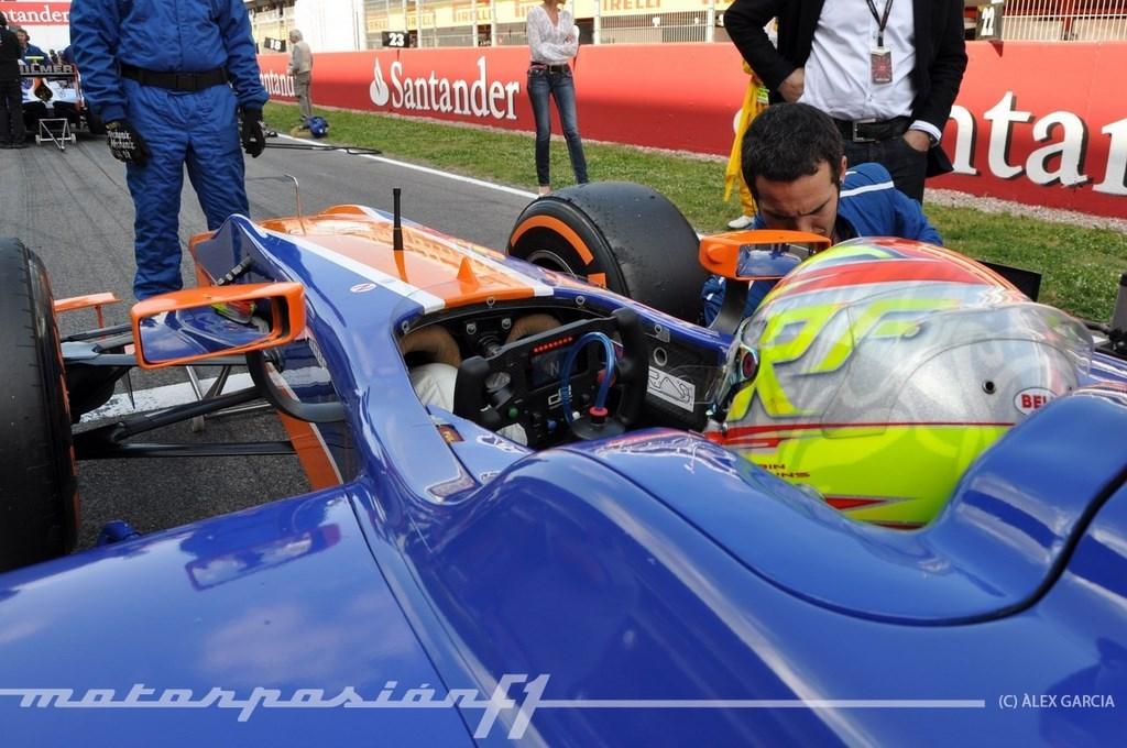 Foto de GP2 2013 Barcelona (36/138)