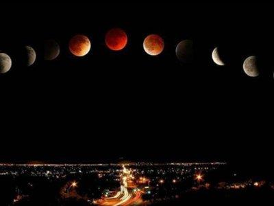 Las mejores fotos del eclipse de superluna alrededor del mundo