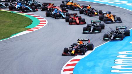 Verstappen Montmelo F1 2021