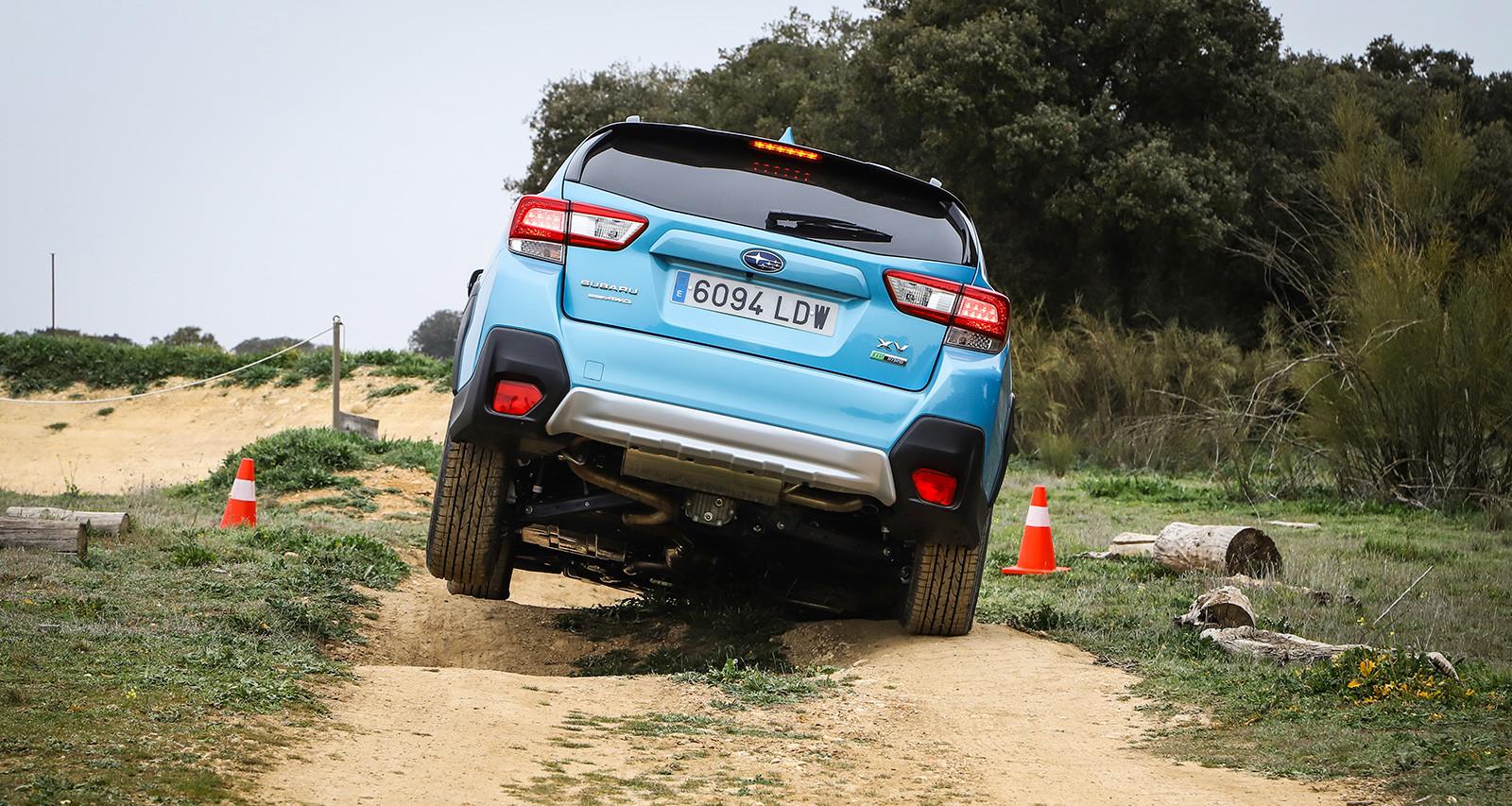Foto de Subaru XV ECO HYBRID 2020, a prueba (15/35)