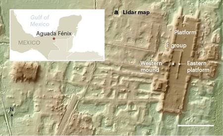Se acaba de descubrir la estructura maya más grande y más antigua de México usando tecnología de mapeo láser 3D