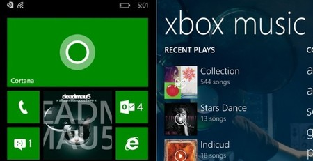 Live Tile Xbox Music