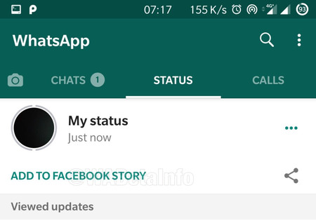 Whatsapp Estados Compartir Facebook Historias