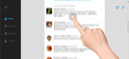Windows 8.1 rompe el uso del scroll táctil en las aplicaciones ModernUI