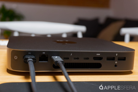Mac mini 2018 conectores