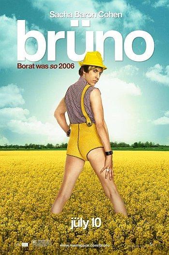 'Brüno', tráiler, cartel e imágenes promocionales de lo nuevo de los creadores de 'Borat'