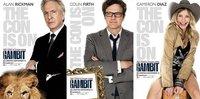 'Gambit', tráiler y carteles de la película escrita por los hermanos Coen