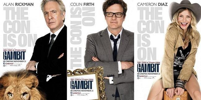 Imagen con el cartel de 'Gambit'