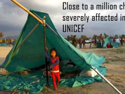Las otras fotos que no son portada: millones de niños a lo largo del mundo se encuentran en peligro