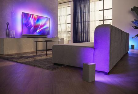 Philips Tv And Sound Connectivity 8505 W6205 B8405 Is Lft Sourround Sound Rgb