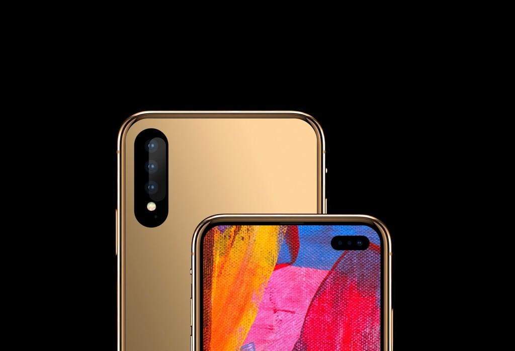 El iPhone que muchos quieren ver hecho realidad lo poseemos en este concepto: sin notch y sin cámaras sobresaliendo